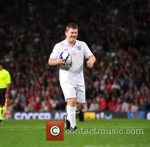 Ricky Hatton 2010 Unicef Soccer Aid charity football match at Old Trafford Manchester, England - 06.06.10