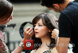 Ginnifer Goodwin Celebrities on the set of the new movie 'Something Borrowed' New York City, USA - 04.06.10