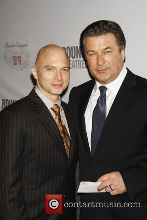 Michael Cerveris and Alec Baldwin attending 'Sondheim 80' at The Roundabout Theatre Company's 2010 Spring Gala held at Studio 54....