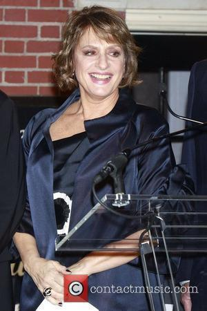 Patti LuPone The Stephen Sondheim Theatre marquee unveiling and lighting ceremony. New York City, USA-15.09.10