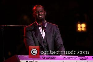 Brian McKnight performs at the 'Songs For Hope' event, held at The Grove in Hollywood Los Angeles, California - 20.09.10