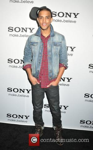 Mateo,  at the world's first internet television unveiling at Espace. New York City, USA - 12.10.10