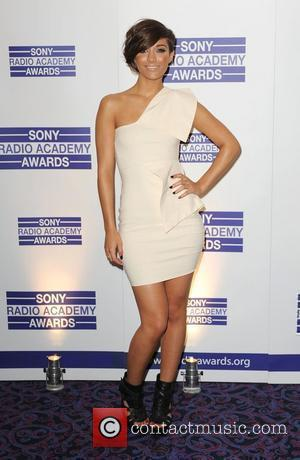 Frankie Sandford arriving for the Sony Radio Academy Awards 2010 at the Grosvenor House Hotel London, England - 10.05.10