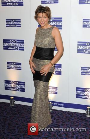 Kate Silverton aarriving for the Sony Radio Academy Awards 2010 at the Grosvenor House Hotel
