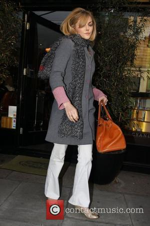 Sophie Dahl  leaving a hairdressers in Great Portland Street.  London, England - 17.05.10