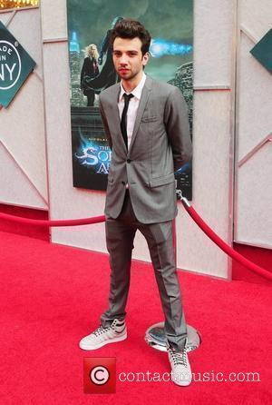 Jay Baruchel World premiere of 'The Sorcerer's Apprentice' at the New Amsterdam Theatre in Times Square New York City, USA...