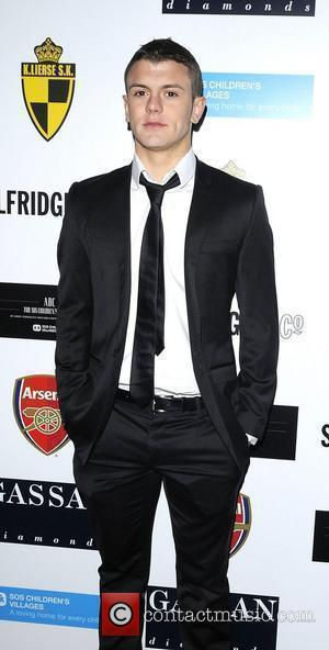 Jack Wilshere arriving at ABC for SOS ball. London, England - 05.12.10