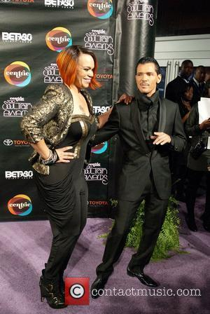 Faith Evans and El Debarge  Soul Train Awards at held at the Cobb Energy Performing Arts Center Atlanta, Georgia...