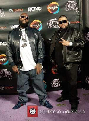 Rick Ross, DJ Khaled Soul Train Awards held at the Cobb Energy Performing Arts Center. Atlanta, Georga - 10.11.10