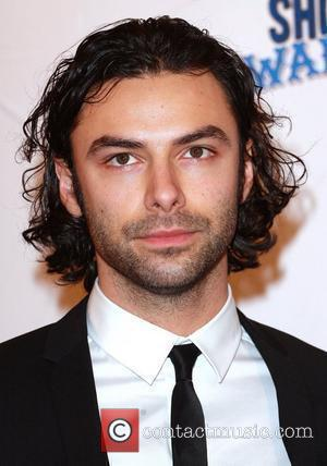 Aidan Turner The South Bank show awards red carpet arrivals London, England - 26.01.10