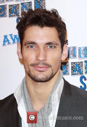 David Gandy The South Bank show awards red carpet arrivals London, England - 26.01.10