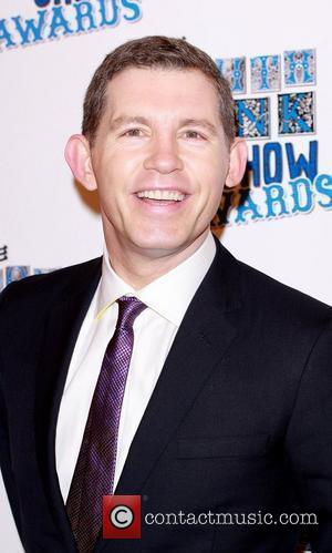 Lee Evans The South Bank show awards red carpet arrivals London, England - 26.01.10