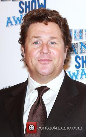 Michael Ball The South Bank show awards red carpet arrivals London, England - 26.01.10