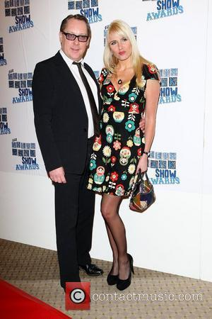 Vic Reeves and Nancy Sorrell The South Bank show awards red carpet arrivals London, England - 26.01.10