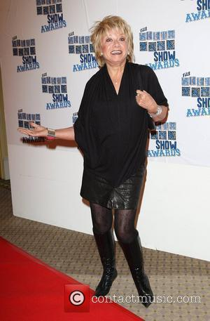 Elaine Paige The South Bank show awards red carpet arrivals London, England - 26.01.10