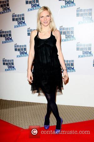 Jo Whiley The South Bank show awards red carpet arrivals London, England - 26.01.10