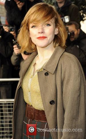 Maxine Peake The South Bank show awards held at the Dorchester Hotel - Outside arrivals. London, England - 26.01.10