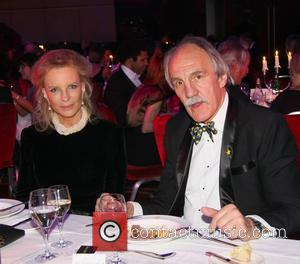 HRH Princess Michael of Kent and Roger Uttley Sparks Winter Ball 2010 held at Park Plaza London, England - 10.12.10