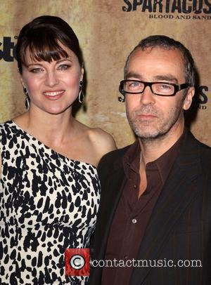 Lucy Lawless and John Hannah 'Spartacus: Blood and Sand' premiere Held at The Hammer Museum Los Angeles, California - 14.01.10
