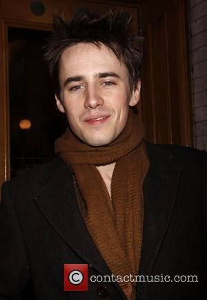 Reeve Carney and Spider Man
