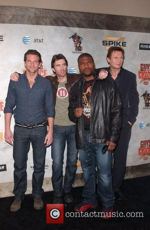 Bradley Cooper, Sharlto Copley, Quinton Jackson Aka Rampage and Liam Neeson