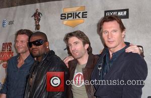Bradley Cooper, Quinton Jackson Aka Rampage, Sharlto Copley and Liam Neeson