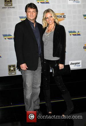 Nathan Fillion and Kate Luyben Spike TV's 2010 Video Game Awards held at The LA Convention Center - Arrivals Los...