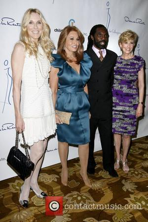 Alana Stewart, Rachel Welch and Kevan Hall