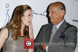 Diane Lane and Oscar De La Renta
