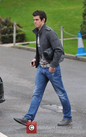Gareth Bale Spurs football players at the Tottenham Hotspur training ground. Essex, England - 11.01.11