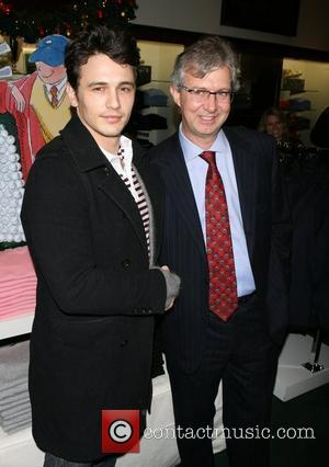 James Franco, Chairman & CEO of Brooks Brother's Claudio Del Vecchio St. Jude Children's Reseach Hospital benefit at Brooks Brothers...