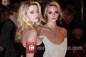 Talulah Riley and Tamsin Egerton World premiere of St Trinian's 2: The Legend Of Fritton's Gold held at The Empire...