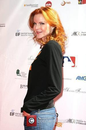 Marcia Cross Stand Up To Cancer held at Sony Pictures Studios - Arrivals Los Angeles, California - 10.09.10