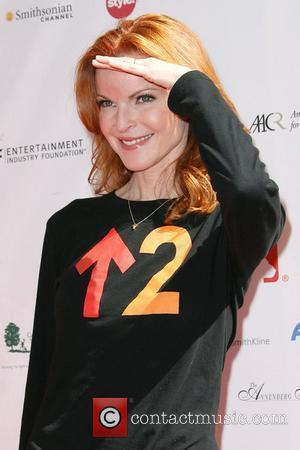 Marcia Cross and Sony