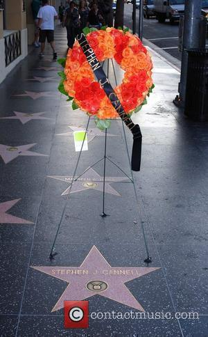 Stephen J. Cannell's star is laid with a tribute on the Hollywood Walk Of Fame Los Angeles, California - 01.10.10...