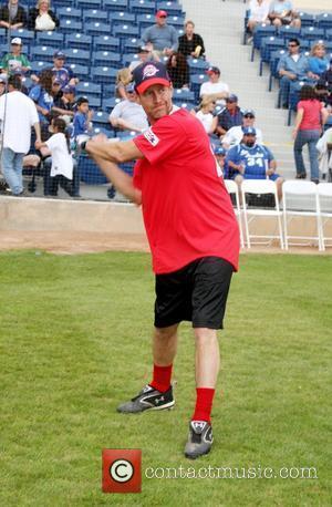 James Denton 2010 Steve Garvey Summer Softball Classic at Eddy D Field, Pepperdine University Malibu, California, USA - 10.07.10