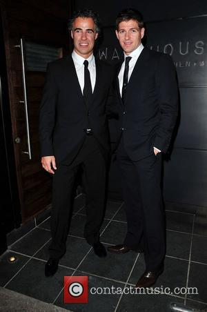 Steven Gerrard and his business partner Paul Adams The launch of Liverpool football player Steven Gerrard's new restaurant 'Warehouse' in...