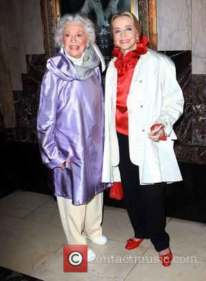 Anne Jeffreys and guest Opening Night Of Stomp Held At The Pantages Theatre Hollywood, California - 26.01.10