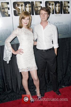 Milla Jovovich and Edward Norton