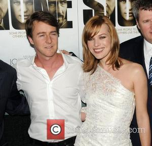 Milla Jovovich and Ed Norton