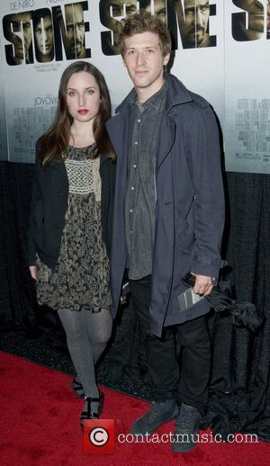 Zoe Lister Jones and Daryl Wein New York Premiere of 'Stone'at MOMA - Arrivals  New York City, USA -...