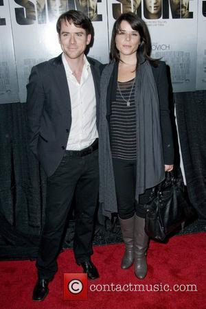 Christian Campbell and Neve Campbell New York premiere of 'Stone' at MOMA - Arrivals New York City, USA - 05.10.10