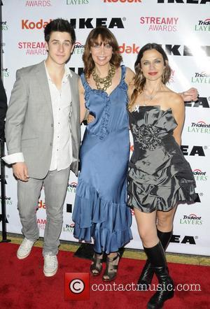 David Henrie, Illeana Douglas and Justine Bateman