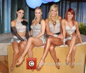 Flavia Cacace, Ola Jordan, Natalie Lowe, Aliona Vilani  'Strictly Come Dancing Show' at the O2 Dublin Dublin, Ireland -...