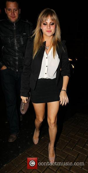 Tina O'Brien The stars of Strictly Come Dancing return to their hotel after last nights (20Nov10) live show Blackpool, England...