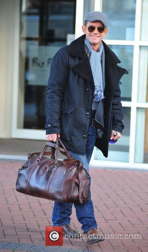 Scott Maslen 'Strictly Come Dancing' stars leaving their hotel in Blackpool Blackpool, England - 21.11.10