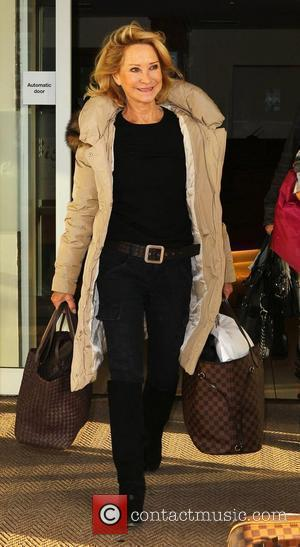 Felicity Kendal 'Strictly Come Dancing' stars leave their hotel  Blackpool, England - 20.11.10