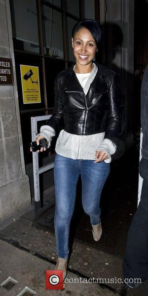 Sugababes - Amelle Berrabah  Celebrities outside the Radio One studios London, England - 22.02.10