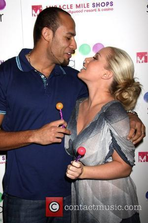 Hank Baskett and Kendra Wilkinson Grand opening of Sugar Factory at Miracle Mile Shops at Planet Hollywood Resort Hotel Casino...