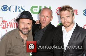 Enrico Colantoni, Hugh Dillon, & David Paetkau 2010 CBS, CW, Showtime summer press tour party held at the Beverly Hilton...